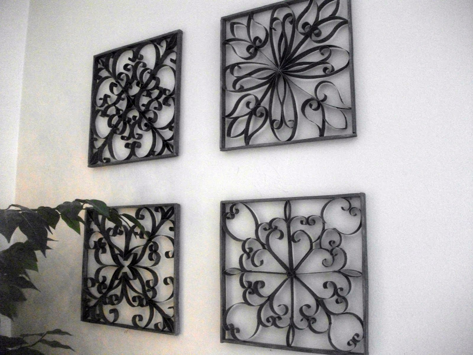 Wrought Iron Decorative Wall Pieces Wrought Iron Wall Decor  Wall Decor Ideas